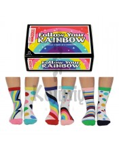Skirtingos FOLLOW YOUR RAINBOW - 6 vnt.